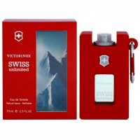 swiss army UNLIMITED 75 ml EDT hombre RECARGABLE
